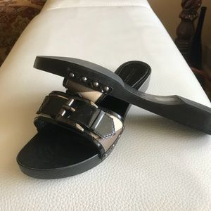 BURBERRY Womens Sandals Size 39